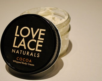 Whipped Body Cream- Cocoa- Lovelace Naturals by Eastern Trend