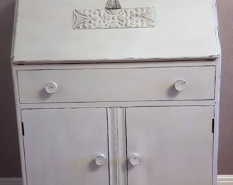 Vintage Hand Painted Writing Bureau