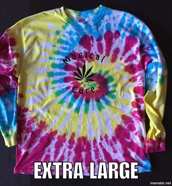 Magical Cure Tie Dye T-shirt- Long Sleeve