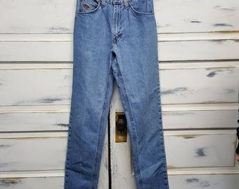 Vintage high waisted mom jeans 80s 90s boyfriend jeans, Diamond Cut, Size 9/10