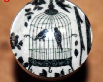 convenient button the bird cage
