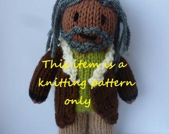 PDF knitting pattern: Ezekiel (The Walking Dead)