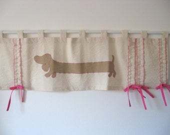 Curtains Ideas cat curtains kitchen : Red Gingham Ruffled Curtain Cat Valance Blue Teal Window