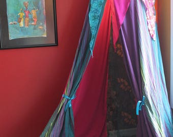 Butterfly house Canopy tent, Fuschia hanging tent