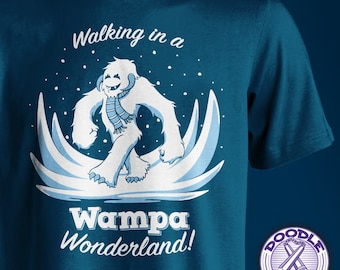 Walking in a Wampa Wonderland - Star Wars Themed T-shirt
