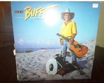 Vintage 1984 Vinyl LP Record Riddles In The Sand Jimmy Buffett Excellent Condition 6072