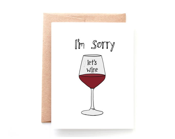Sorry Lets Wine