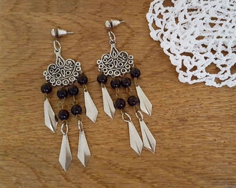 Vintage Earrings, Boho Earrings, Dangle Earrings