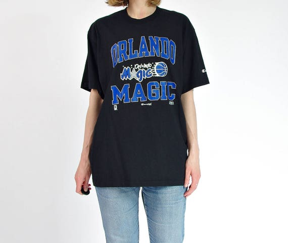SALE! 90s Orlando Magic Champion Usa Nba Licensed boyfriend fit t-shirt / Size M-XL
