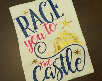 Race You To The Castle Shirt, Women's Shirt