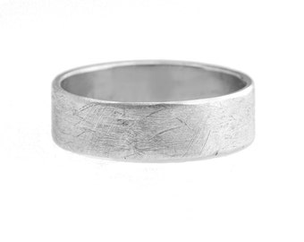 The Standard Rustic Band 6mm