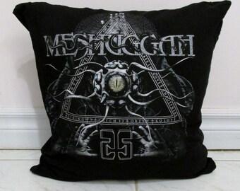 Meshuggah Pillow DIY Heavy Metal Decor #1 (Cover or Full Pillow)