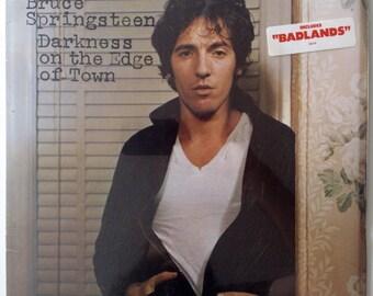 Bruce Springsteen - Darkness On The Edge Of Town SEALED LP Vinyl Record Album, Columbia - JC 35318, Rock, Pop Rock, 1978, Original Pressing