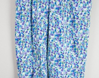 90's High Wasted Floral Pants