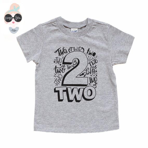 Items Similar To Second Birthday Shirt