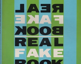 101 Popular Songs Combo - Style, The Eb Book, The Real Fake Book, M276a, c1972, 112 Pages, good shape