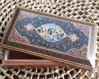 Vintage Inlaid trinket box