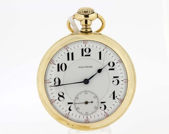 1902 Waltham pocket watch Gold Filled