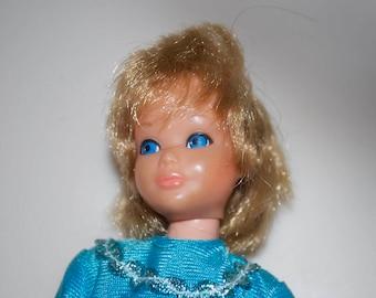 Vintage Skipper Barbie Doll 1179 from Pose N Play Swing Gym Gift Set 1972-1973