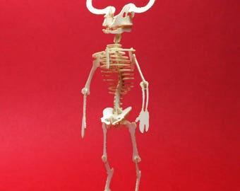 Minotaur Tiny Bare Bones Skeleton Puzzle