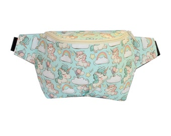 Unicorns fanny pack,  hip bag