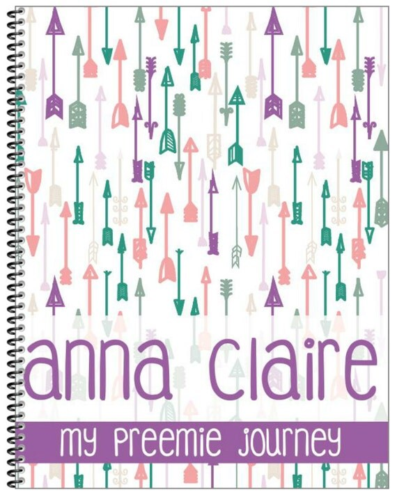 Preemie Baby Book - Customized (DIGITAL COPY)- You Print it Yourself!