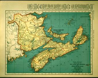 Map Nova Scotia Map New Brunswick Prince Edward Island