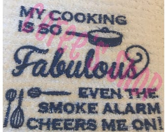 """Embroidery Machine - My Cooking Is So FABULOUS... """"INSTANT DOWNLOAD!"""""""