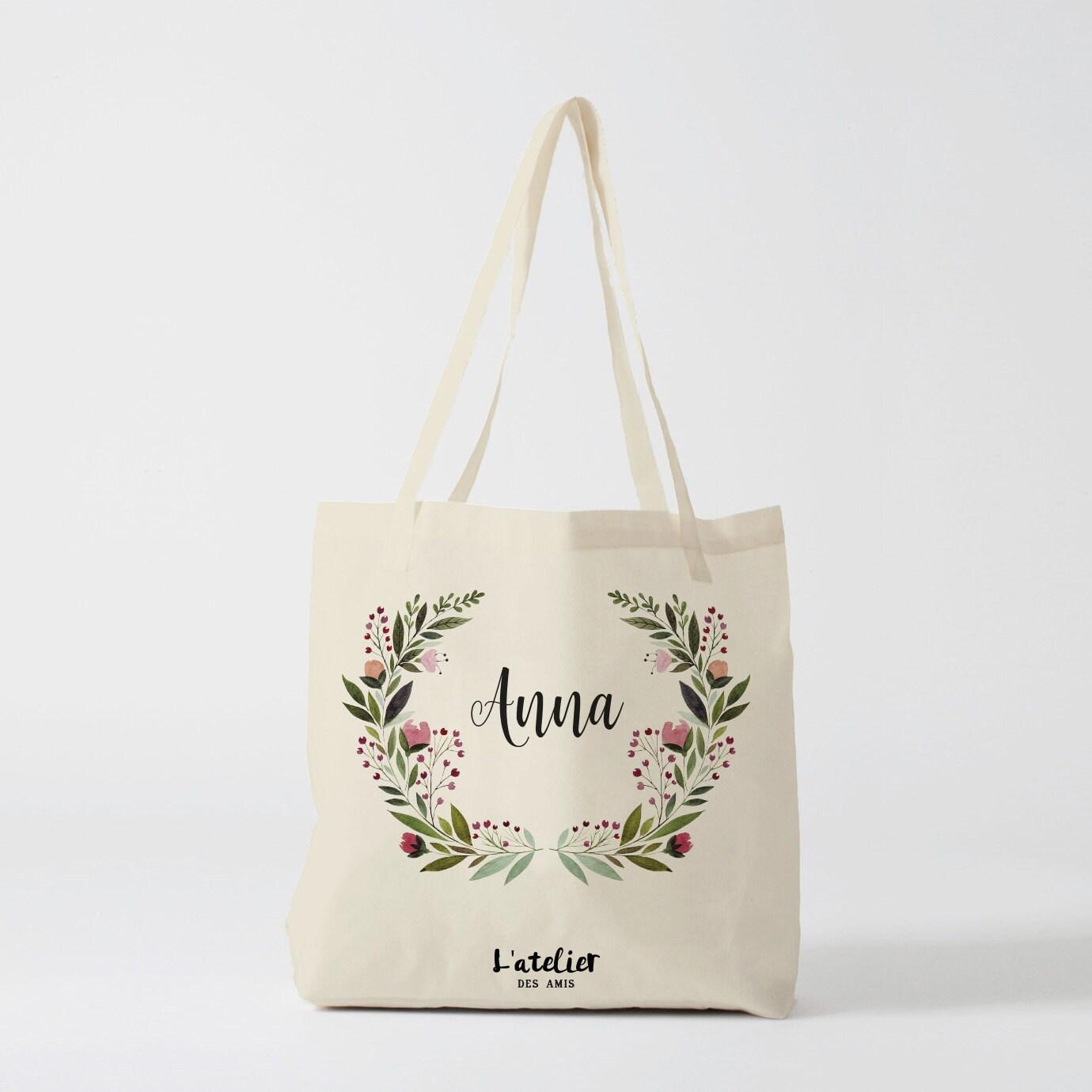 w106y tote bag personnalis sac de toile cabas sac. Black Bedroom Furniture Sets. Home Design Ideas