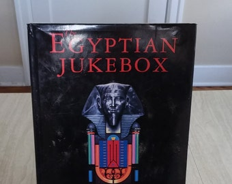 "Vintage Nick Bantock book ""The Eygyptian JukeBox"""