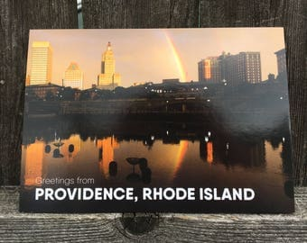 Waterplace Park Providence Postcard