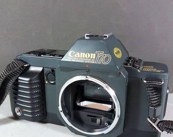 Canon T70 Vintage 35mm SLR Camera FD mount Body
