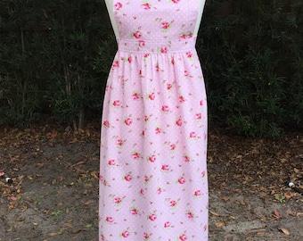 Emma Women's Regency-Style Floral Full Apron