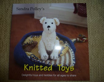 Sandra Polley's Knitted Toys Pattern Book