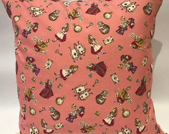 Alice in Wonderland cushion, Alice in Wonderland, Alice cushion, Alice pillow, girls cushion, children's cushion, nursery cushion