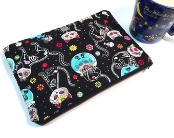 Sugar Skull iPad Case, iPad Air Case, Cat iPad Mini Case, Tablet Case, Kindle Fire HDX Case, Galaxy Note Case Galaxy Tab Case Cute iPad Case