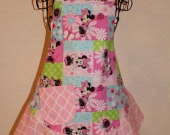 Child's Medium Minnie Mouse Apron