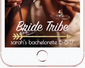 Custom Bride Tribe Snapchat Filter