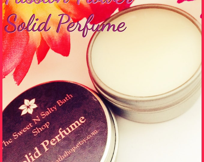 Passion Flower Solid Perfume