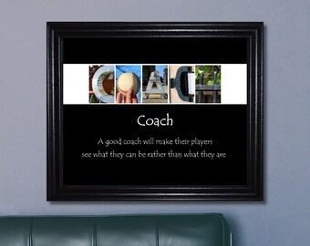 Baseball Coach Gift, Coach Print, Coach Sign, Coach Gift, Inspirational Coach Gift, Inspirational Quote, Baseball