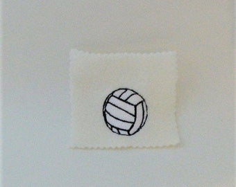 Volleyball Embroidery Design - Embroidery Pattern - Embroidery File - Embroidery Machine Design - Ball Pattern - Machine Embroidery Design