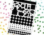 March Mystery // Ultimate Weekly Planner Kit (280+ Planner Stickers)
