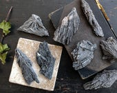 Natural Black Kyanite Fan. Black Kyanite Crystal. Quartz Crystal Kyanite. Crystal Grid. Reiki Crystals. Meditation. Healing Crystals