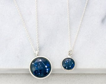 Constellation Necklace, Horoscope Necklace, Zodiac Necklace, Zodiac Jewelry, Friendship Necklace, Zodiac Sign Necklace, Astrology Jewelry