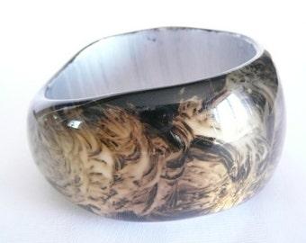 Vintage Chunky Bangle Bracelet