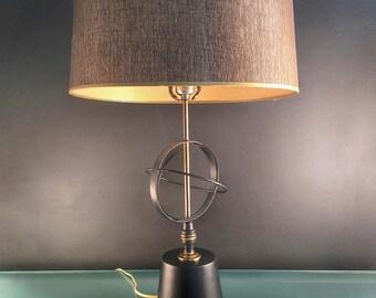 Atomic Metal Lamp with Shade