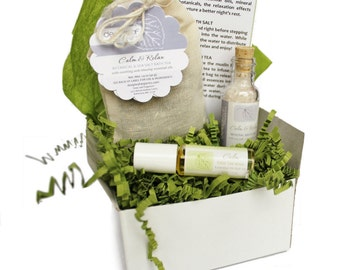 Bath Gift, Gift for Her, Birthday Gift, Body Care Gift, Birthday Gift, Bath Salt, Aromatherapy Set, Gifts for Women, Spa Gift Set, Bath Set