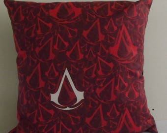 "Assasins Creed cushion 18"" x 18"""