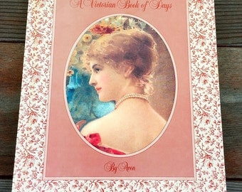 A Victorian Book of Days Diary by Avon Hardcover 1983