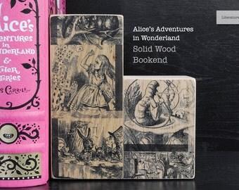 Literary Bookend: Alice's Adventures in Wonderland (Lewis Caroll)